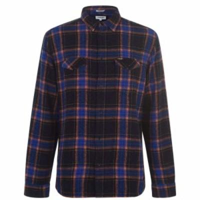 ラングラー Wrangler メンズ シャツ フランネルシャツ トップス Long Sleeve Flannel Shirt Black/Blu/Rust