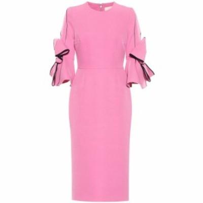 ロクサンダ Roksanda レディース ワンピース ワンピース・ドレス Lavete crepe midi dress Flamingo
