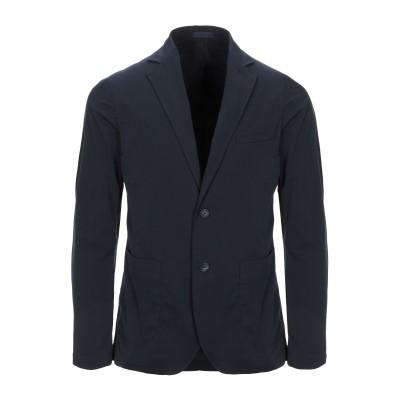 クルーナ CRUNA テーラードジャケット ダークブルー 50 ポリエステル 100% テーラードジャケット