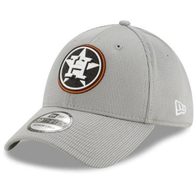 ユニセックス スポーツリーグ メジャーリーグ Houston Astros New Era Team Clubhouse 39THIRTY Flex Hat - Gray 帽子