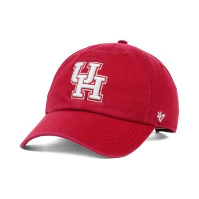 47ブランド メンズ 帽子 アクセサリー Houston Cougars NCAA Clean-Up Cap