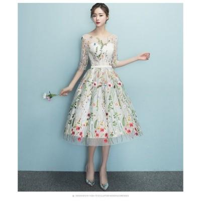 ウェディングドレス♪高級ウエディングドレス格安.激安お花嫁ドレス結婚式/二次会/パーディ-//花嫁♪