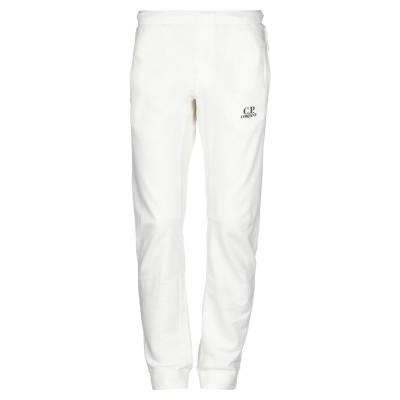 シーピーカンパニー C.P. COMPANY パンツ ホワイト L コットン 100% パンツ
