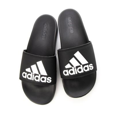 アディダス adidas  ADILETTE CF LOGO シャワーサンダル (ブラック)