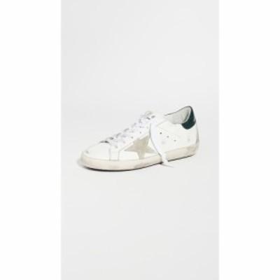 ゴールデン グース Golden Goose レディース スニーカー シューズ・靴 Superstar Sneakers White/Dark Green