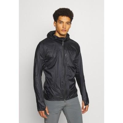フーディニ ジャケット&ブルゾン メンズ アウター COME ALONG JACKET - Outdoor jacket - black