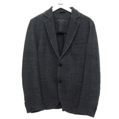 CIRCOLO 1901 グレンチェック2Bジャケット ブラウン サイズ:48 (京都店) 200930