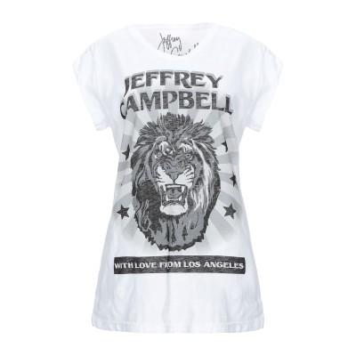 ジェフリーキャンベル JEFFREY CAMPBELL T シャツ ホワイト S コットン 100% T シャツ