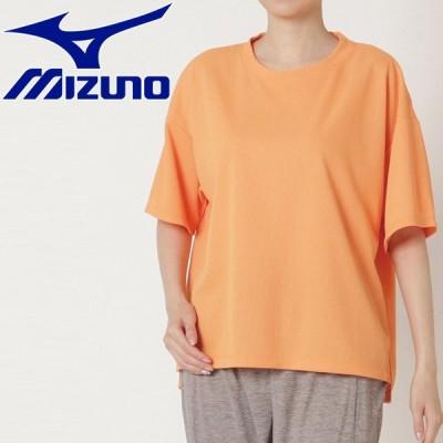 メール便送料無料 ミズノ ドライエアロフローTシャツ レディース B2MA121753