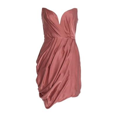 ZIMMERMANN ミニワンピース&ドレス ローズピンク 2 シルク 100% ミニワンピース&ドレス