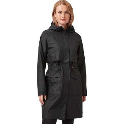 ヘリーハンセン レディース ジャケット・ブルゾン アウター Helly Hansen Women's Lynnwood Raincoat Black