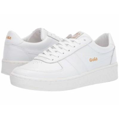 ゴラ メンズ スニーカー シューズ Grandslam Leather White/White/White