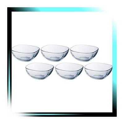 03. 直径11cm ガラス ボウル クリア 最大11×11×高4.8cm プレー