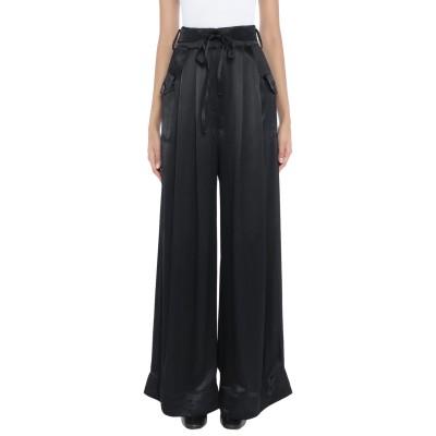 SELF-PORTRAIT パンツ ブラック 10 レーヨン 100% パンツ