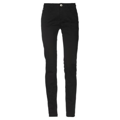 TRU TRUSSARDI パンツ ブラック 29 97% コットン 3% ポリウレタン パンツ
