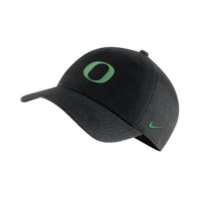 ナイキ 帽子 アクセサリー メンズ Oregon Ducks Core Easy Adjustable Cap Black