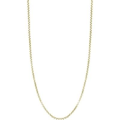 ボニー レヴィ BONY LEVY メンズ ネックレス ジュエリー・アクセサリー 14K Gold Box Chain Necklace Yellow Gold