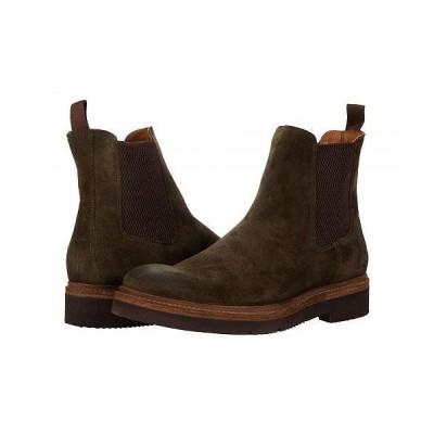 Frye フライ メンズ 男性用 シューズ 靴 ブーツ チェルシーブーツ Bowery Light Chelsea - Olive Oiled Suede