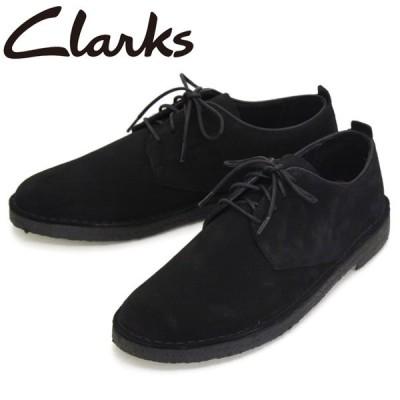 Clarks (クラークス) 26107883 Desert London デザートロンドン メンズブーツ Black Sde CL024