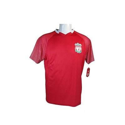 海外より出荷【並行輸入品】Icon Sport Group Liverpool F.C. 公式大人用サッカーポリジャージー P006 US サイズ: