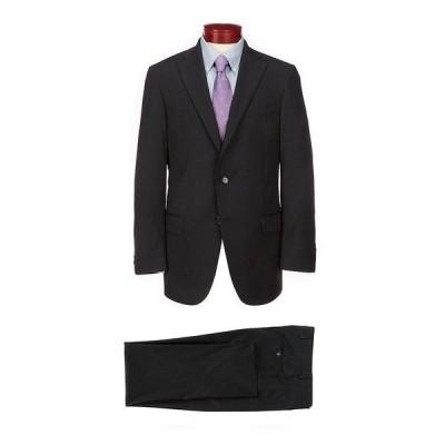 ハートシャファネールマークス メンズ ジャケット&ブルゾン アウター Chicago Classic Fit Solid Wool Blend Suit Black