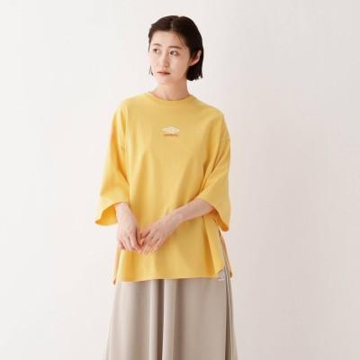 エージー バイ アクアガール AG by aquagirl UMBRO裾ラウンドTシャツ (イエロー)