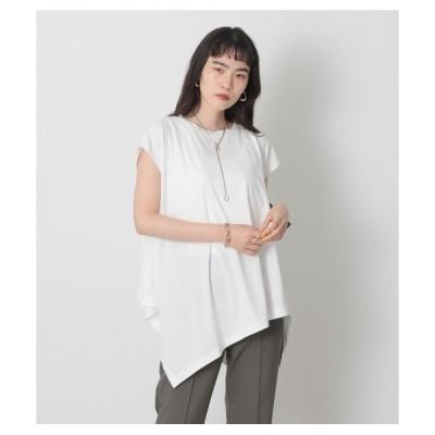 tシャツ Tシャツ アシンメトリーヘムプルオーバー