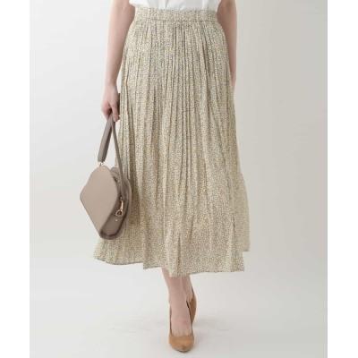 OFUON / プリントプリーツスカート WOMEN スカート > スカート