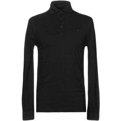 PAL ZILERI CONCEPT ポロシャツ ブラック 48 コットン 100% ポロシャツ