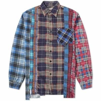 ニードルズ Needles メンズ シャツ フランネルシャツ トップス 7 Cuts Flannel Shirt Assorted
