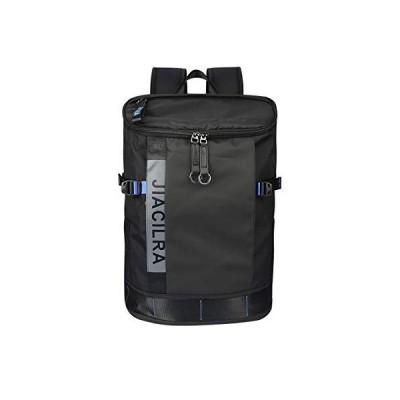 [Jiacilra] リュック スクエア メンズ バックパック 30L 防水 高通気性 超軽量 大容量 多用途 多機能 ハイキングバッグ かばん 山登