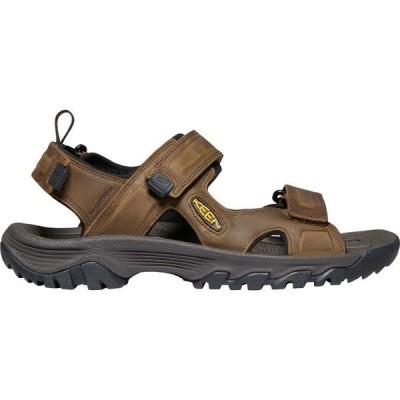 キーン サンダル シューズ メンズ KEEN Men's Targhee III Open Toe Sandals Bison