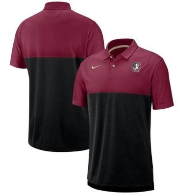 ユニセックス スポーツリーグ アメリカ大学スポーツ Florida State Seminoles Nike 2019 Early Season Coaches Polo - Garnet/Black