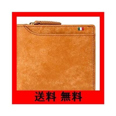 (ミラグロ)Milagro イタリアンヌバック 23ポケット 二つ折り財布 (財布 メンズ 二つ折り ブランド 本革 革 小銭入れ カード入れ ギフ