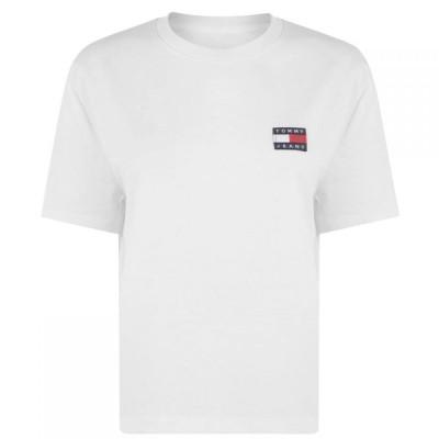 トミー ジーンズ Tommy Jeans レディース Tシャツ トップス Tee White