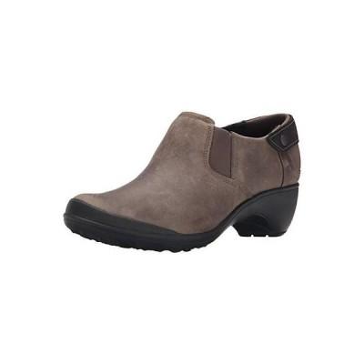 メレル ヒール シューズ 靴 Merrell 2618 レディース Veranda Taupe レザー Slip-On シューズ 10 ミディアム (B,M) BHFO