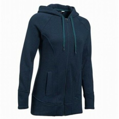 Under Armour アンダー アーマー ファッション トップス Under Armour NEW Blue Womens Size Small S Front-Zip Hooded Sweater