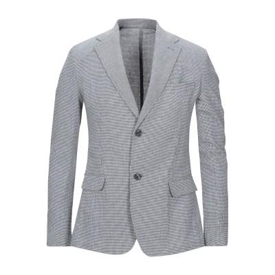 ハマキホ HAMAKI-HO テーラードジャケット ホワイト 46 コットン 60% / レーヨン 16% / ポリエステル 16% / リネン 8