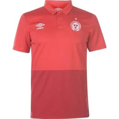 アンブロ Umbro メンズ サッカー トップス Shelbourne Polo Shirt Vermillion/Red