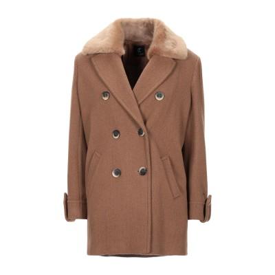 CRISTINAEFFE コート キャメル 42 ウール 80% / ナイロン 20% コート