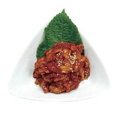 『日本産たらチャンジャ(500g)』【冷蔵】