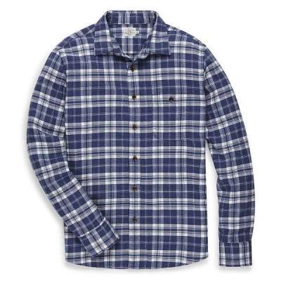 ファレティ メンズ シャツ トップス Faherty Men's Stretch Seaview Flannel Shirt