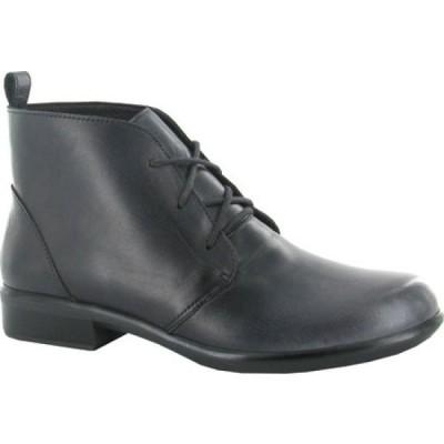 ナオト Naot レディース ブーツ ショートブーツ レースアップブーツ シューズ・靴 Levanto Lace Up Ankle Boot Gray Black Handcrafted Leather
