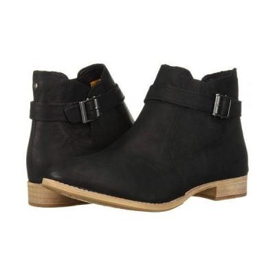 Caterpillar Casual キャタピラー レディース 女性用 シューズ 靴 ブーツ アンクルブーツ ショート Mazzy - Black Leather