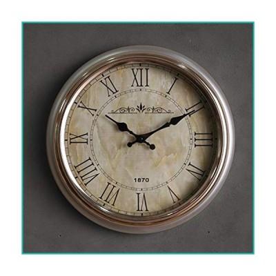 Color Clock Exquisite Simplicity Round Wall Clock Simple and Beautiful Decorative Clock Durable Anti-Corrosion Retro Clock Quiet Walking TP-