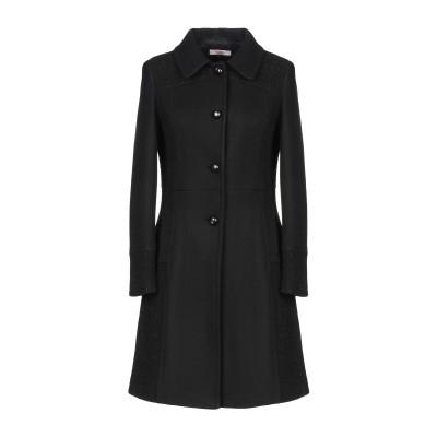 ブルーガール ブルマリン BLUGIRL BLUMARINE コート ブラック 42 ポリエステル 70% / ウール 30% / アクリル コート