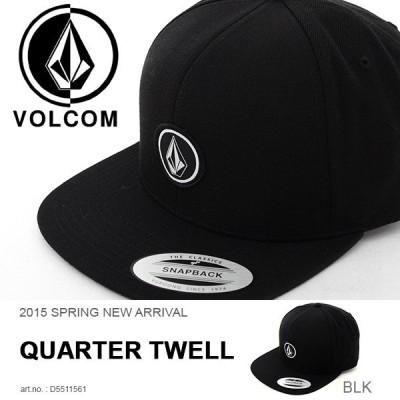 キャップ VOLCOM ボルコム Quarter Snapback メンズ 帽子 CAP スナップバック スケートボード スケボー D5511561 20%off