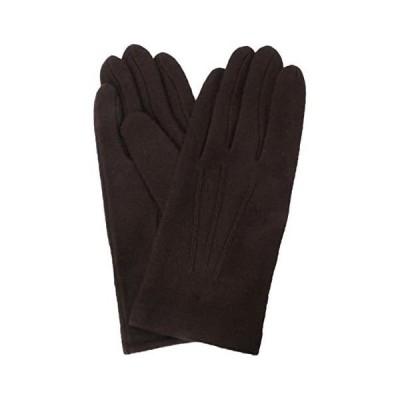 イチーナ  紳士用手袋 アクリル ジャージ ブラウン (フリーサイズ) 3101 (ブラウン フリー サイズ)