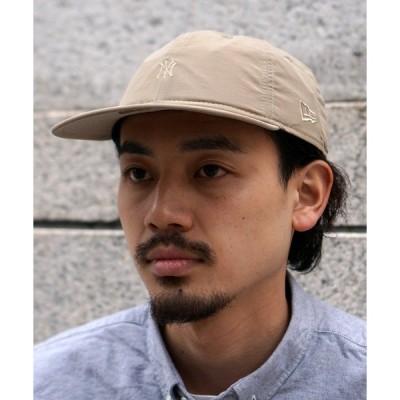 帽子 キャップ NEW ERA × BEAMS / 別注 ピーチフェイス ナイロン キャップ