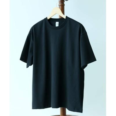 レショップ 【LE / エルイー】17/-テンジク クルーネック WIDE ブラック 1